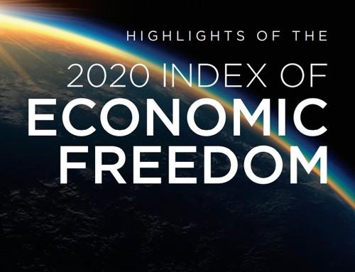 2020年全球經濟自由度排名